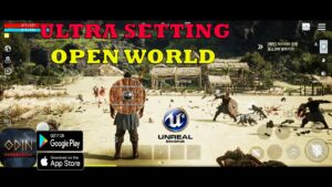 ODIN Valhalla Rising  Gameplay Android IOS UNREAL ENGINE 4 MAX GRAPHICS ROG PHONE 5  2021