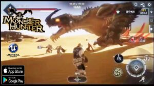 TOP 10 BEST AMAZING MONSTER HUNTER GAMES FOR ANDROIO IOS HIGH GRAPHICS QUALITY 2021
