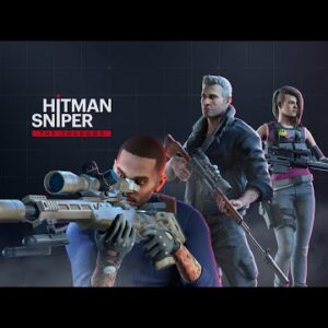Hitman Sniper The Shadows Android Gameplay + APK Download New Update  AAA Sniper Game in Mobile 2021