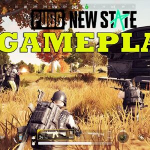 PUBG NEW STATE GAMEPLAY  ANDROID ULTRA SETTING ALPHA  2021