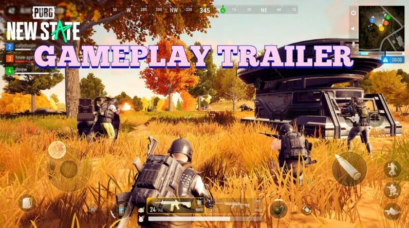 PUBG MOBILE NEW STATES GAMEPLAY  ANDROID IOS IN GAME-INFORMATIONS ABOUT GAME ALPHA TEST 2021