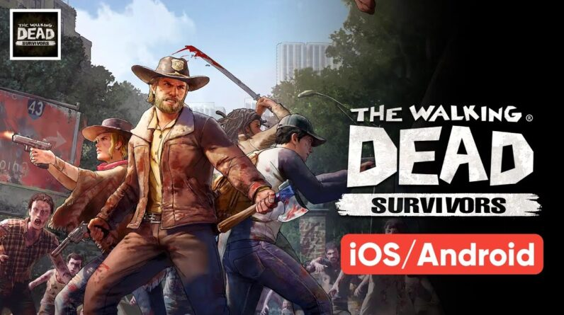 The Walking Dead Survivors Gameplay Review 2021 (Android & iOS)
