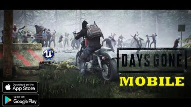 DAYS GONE MOBILE (UNDAWN) NEW TRAILER GAMEPLAY ANDROID IOS ALL NEW FEATURES BETA  LAUNCH 25/06/2021