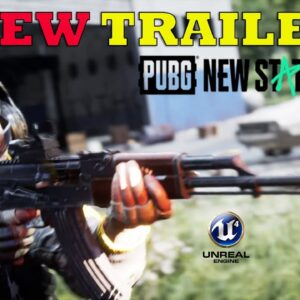 PUBG NEW STATE OFFICIAL NEW TRAILER LAUNCH TEASER GAMEPLAY ANDROID IOS UNREAL ENGINE 4 2021