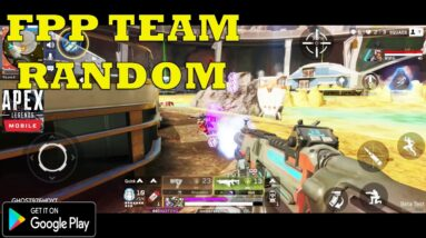 Apex Legends Mobile Gameplay Android FPP SQUAD IS GOOD 2021