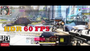 Apex Legends Mobile Gameplay Android FPP HDR 60 FPS NEW BETA ROG PHONE 5  12GB RAM 2021