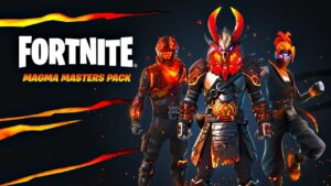 New MAGMA MASTERS Pack! Winning in Solos! (Fortnite)