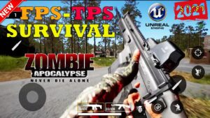 TOP 25 BEST FPS TPS SURVIVAL APOCALYPSE ZOMBIE GAMES IN MOBILE HIGH GRAPHICS 2021
