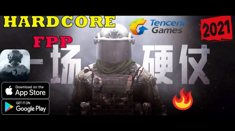 Dark Zone Breakout 🔥Hardcore Shooter Mobile Game FIRST LOOK New FPS Tactical By Tencent Games  2021