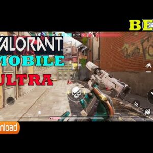 VALORANT MOBILE  (PROJECT M) GAMEPLAY ANDROID ALL HEROES ULTRA SETTING 60 FPS 12 GB RAM DEVICE 2021