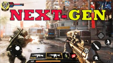 TOP 27 NEW BEST FPS WAR GAMES LIKE BATTLEFIELD AND CALL OF DUTY  ANDROID IOS HIGH GRAPHICS 2021