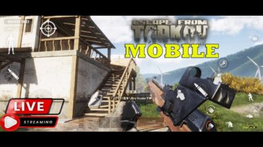 DARK AREA BREAKAOUT ESCAPE TARKOV MOBILE FIRST FPS VERY HARD HDR 60 FPS STREAM DAY 4