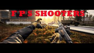 NEW  FPS SHOOTER GAMES CONSOLES QUALITY 2021
