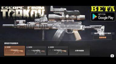 Dark Area Breakout NEW FPS ESCAPE FROM TARKOV  GAMEPLAY ANDROID -ALL WEAPONS-GUNSMITH AND SKINS 2021