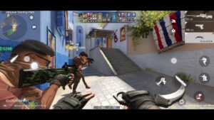 The Origin Mission (CSGO MOBILE) GAMEPLAY ANDROID UNREAL ENGINE 4