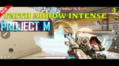 PROJECT M (VALORANT MOBILE LIKE ) FAITH ARROW INTENSE GAMEPLAY ANDROID HDR MAX SETTING 2021
