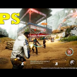 NEW TPS GAME ANDROID GAMEPLAY HIGH GRAPHICS OPEN WORLD STORY ARRIVAL 2021