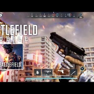 Battlefield Mobile MAX Graphics Gameplay - First ALPHA test