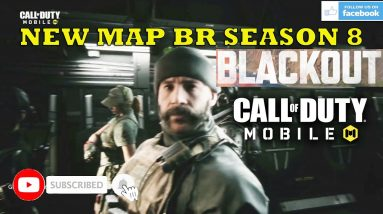 CALL OF DUTY MOBILE BLACKOUT GAMEPLAY NEW MAP BR TRAILER HD ANDROID IOS SEASON 8 2021