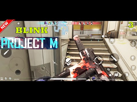 PROJECT M BLINK INTENSE GAMEPLAY ANDROID VALORANT MOBILE LIKE HDR MAX SETTING 2021