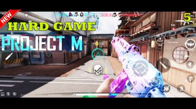 PROJECT M (VALORANT LIKE) INTENSE GAMEPLAY ANDROID MAX SETTING 2021
