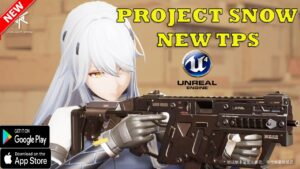 Project Snow NEW TPS GAME FIRST LOOK ANDROID IOS FIRST GAMEPLAY 2021