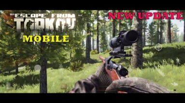 Dark Area Breakout NEW FPS ESCAPE FROM TARKOV  GAMEPLAY ANDROID  NEW UPDATE + SNIPER GAMEPLAY  2021