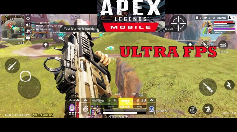 Apex Legends Mobile NEW BIG UPDATE NEW MOD Gameplay Android ULTRA HD GRAPHICS FPP 60FPS 2021