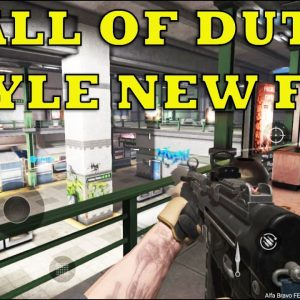 NEW FPS CALL OF DUTY STYLE COMBAT MASTER ONLINE FPS GAMEPLAY ANDROID ULTRA 2021