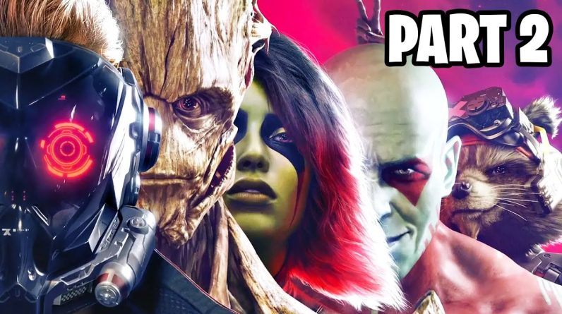 BEST MARVEL GAME?! (Guardians of the Galaxy, Part 2)