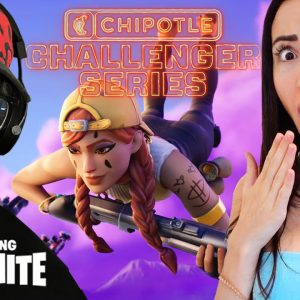 CHIPOTLE CHALLENGER SERIES ft. Fortnite! (With My Girlfriend)