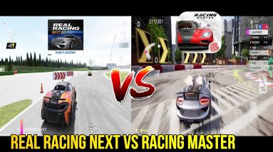 REAL RACING NEXT VS RACING MASTER COMPARISON GAMEPLAY ANDROID ULTRA SETTING 2021