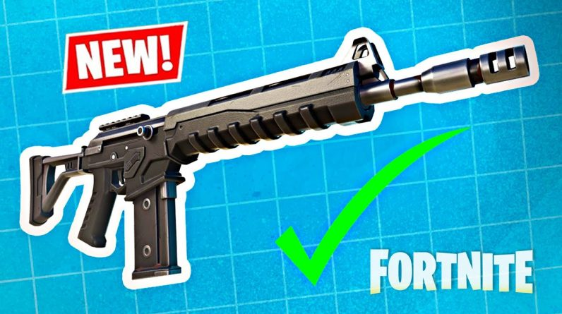 NEW FORTNITE UPDATE!! Combat AR and CUBE Map Changes! (Season 8)