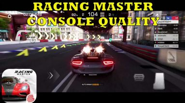 RACING MASTER GAMEPLAY ANDROID-IOS  60FPS -ALL MAPS -TEST INTERIOR CARS + LINKS DOWNLOAD 2021