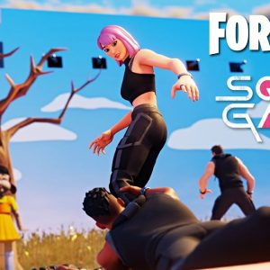 SQUID GAME in FORTNITE *LIVE* with VIEWERS! (Winner Gets 10,000 V-Bucks)