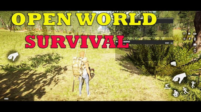 DEAD DAWN SURVIVAL AND OPEN WORLD GAME FOR ANDROID-GAMEPLAY ANDROID BETA 2021