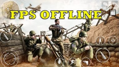 World War 2 Game (Call Of Courage) NEW FPS OFFLINE GAMEPLAY ANDROID 2021